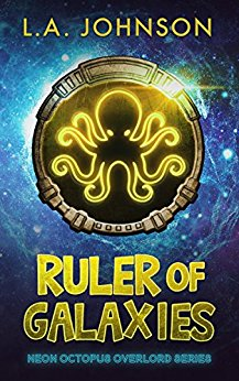 Cover reveal for Ruler of Galaxies